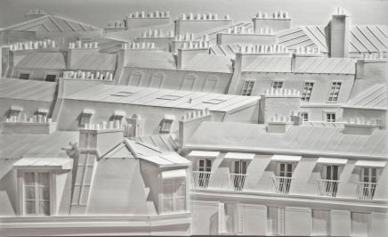 Toits de Paris I, 100x70 cms